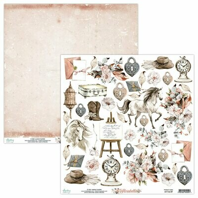 Mintay Papers Florabella 12 x 12 sheet #9