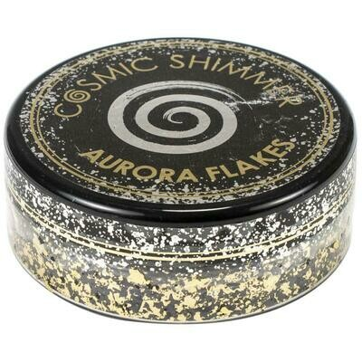 Creative Expressions Cosmic Shimmer Aurora Flakes 50ml Golden Onyx