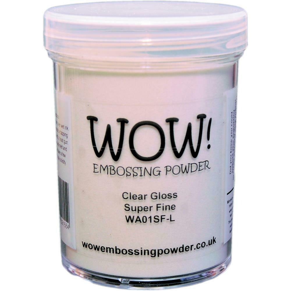 WOW! Embossing Powder Super Fine 15ml Clear Gloss