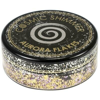 Creative Expressions Cosmic Shimmer Aurora Flakes 50ml Morning Blush