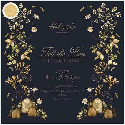 Tell the Bees - Special Edition - 12x12 Paper Pad
