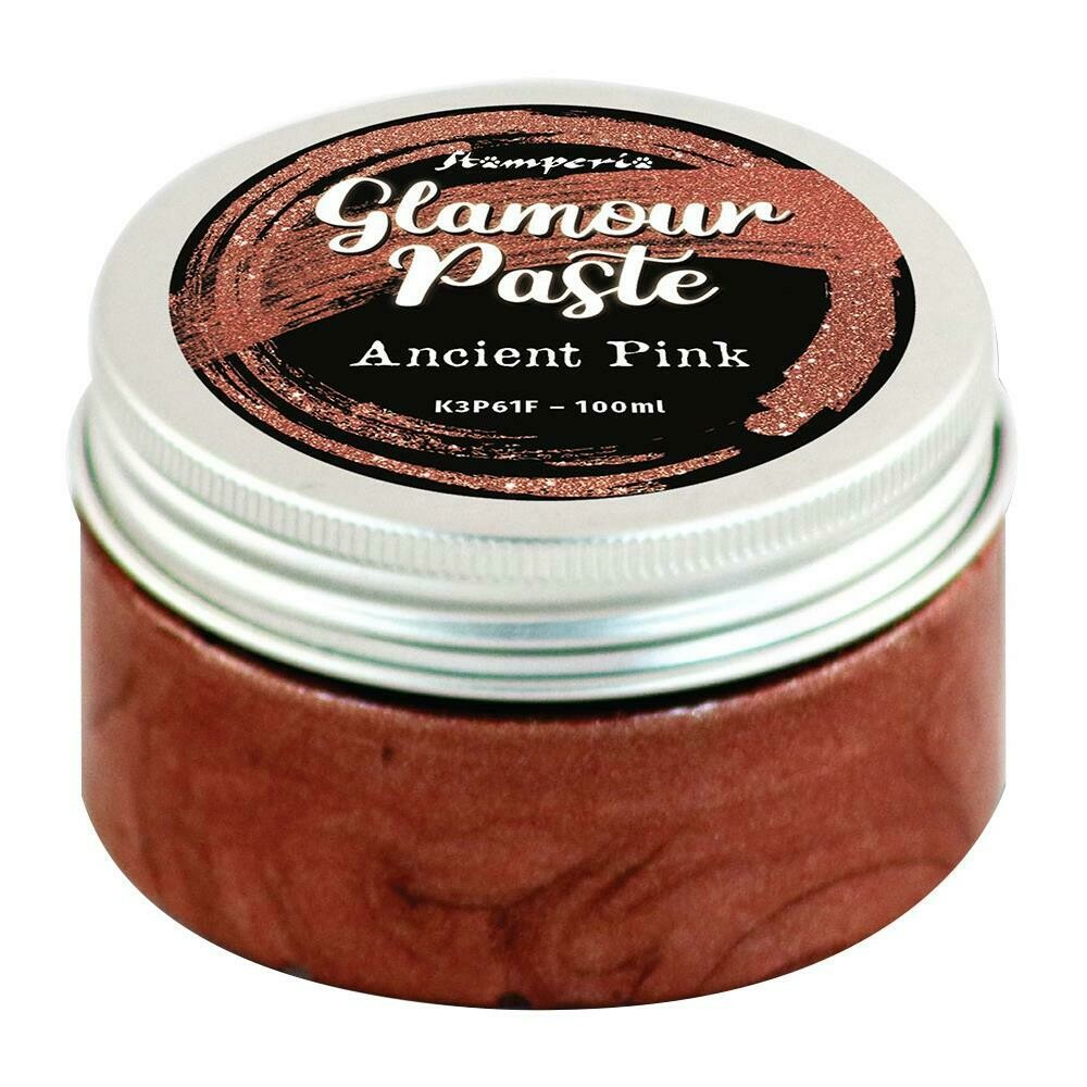 Stamperia Glamour Paste 100ml Ancient Pink