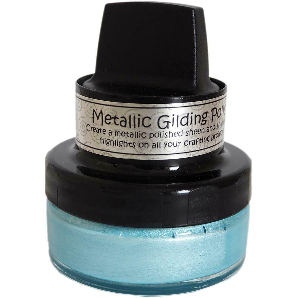Metallic Gilding Polish by Creative Expressions Powder Blue