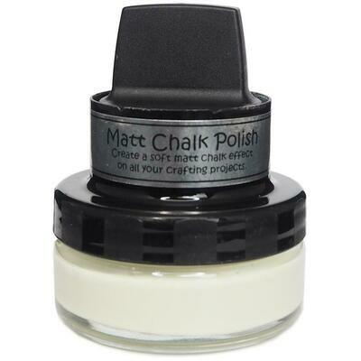 Cosmic Shimmer Matt Chalk Polish 50ml Taupe