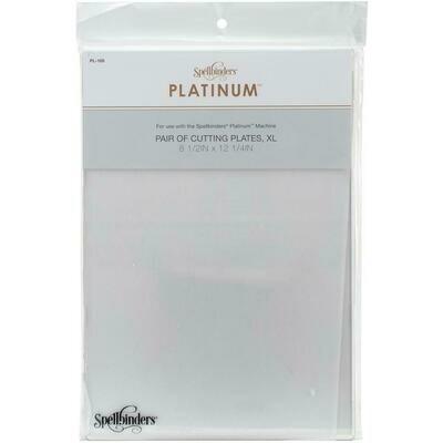 "Spellbinders Platinum Cutting Plates  X-Large 12.25""X8.5"""
