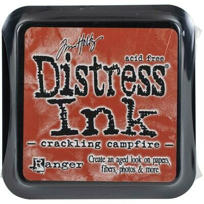 Tim Holtz Distress Ink Pad Crackling Campfire