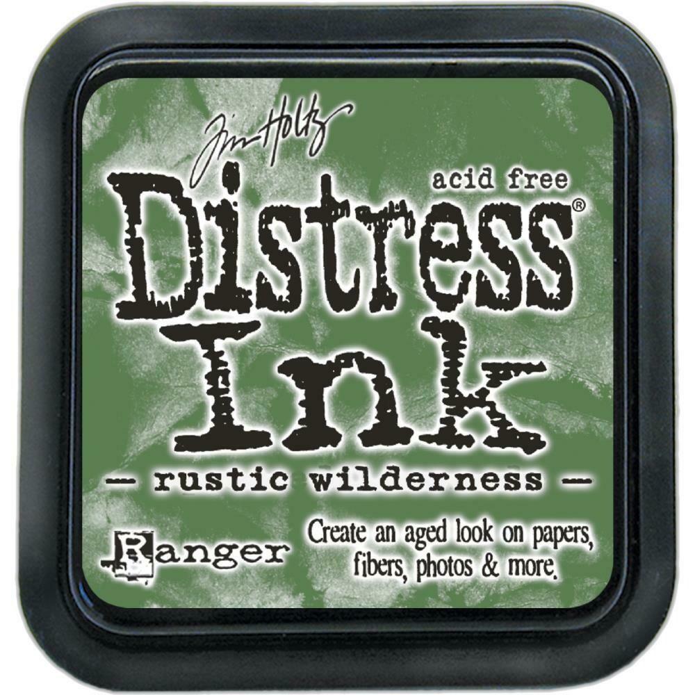 Tim Holtz Distress Ink Pad Rustic Wilderness