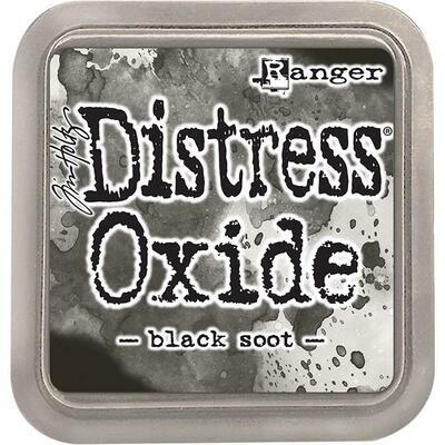 Tim Holtz Distress Oxide Ink Pad Black Soot