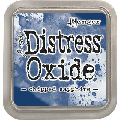 Tim Holtz Distress Oxide Pad Chipped Sapphire