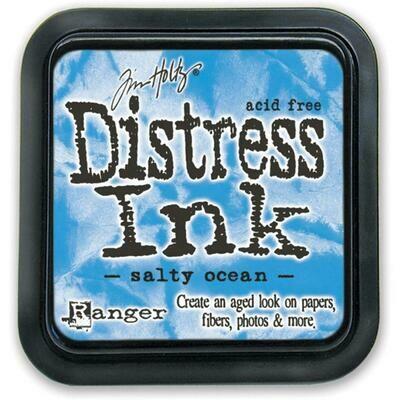 Tim Holtz Distress Ink Pad Salty Ocean