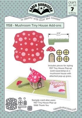 Karen Burniston Dies Mushroom Tiny House Add-ons