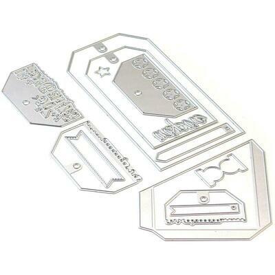 Elizabeth Craft Metal Die Planner Pocket 4