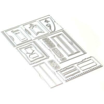 Elizabeth Craft Metal Die Note Pieces