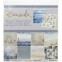 """49 And Market Collection Pack 12""""X12"""" Seaside"""
