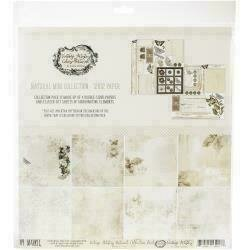 """49 And Market Collection Pack 12""""X12""""Vintage Artistry Natural"""