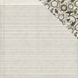 """Authentique Accolade Double-Sided Cardstock 12""""X12"""" #1"""
