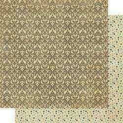 """Authentique Purebred Double-Sided Cardstock 12""""X12""""#3 Mini Paw Prints"""