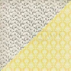 """Authentique Swaddle Girl Cardstock 12""""X12"""" #6"""