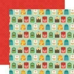 """Back To School Double-Sided Cardstock 12""""X12"""" Backpacks"""
