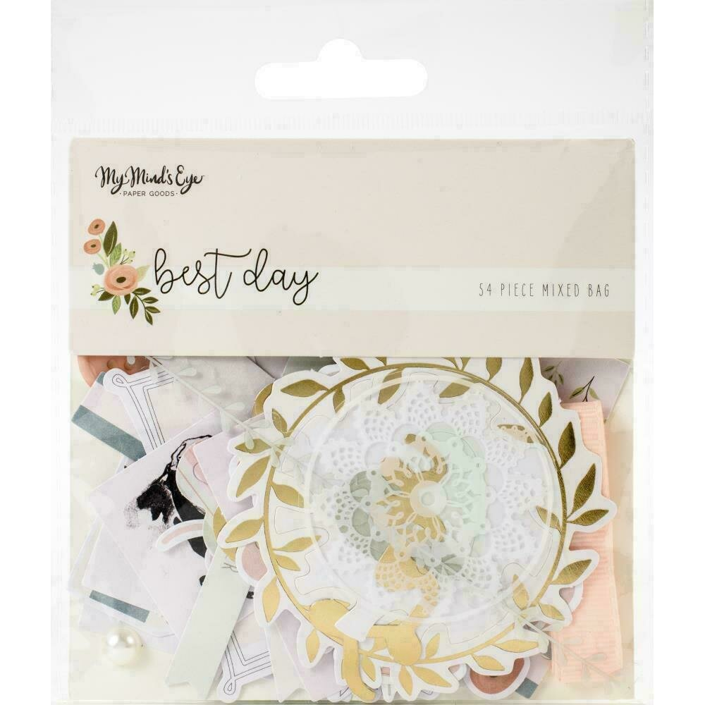 Best Day Mixed Bag Cardstock Die-Cuts