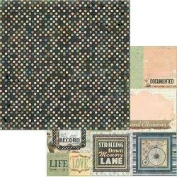 """Bo Bunny Once Upon A Lifetime Double-Sided Cardstock 12""""X12"""" Generations"""