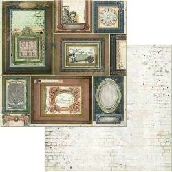"""Bo Bunny Once Upon A Lifetime Double-Sided Cardstock 12""""X12"""" Traditions"""