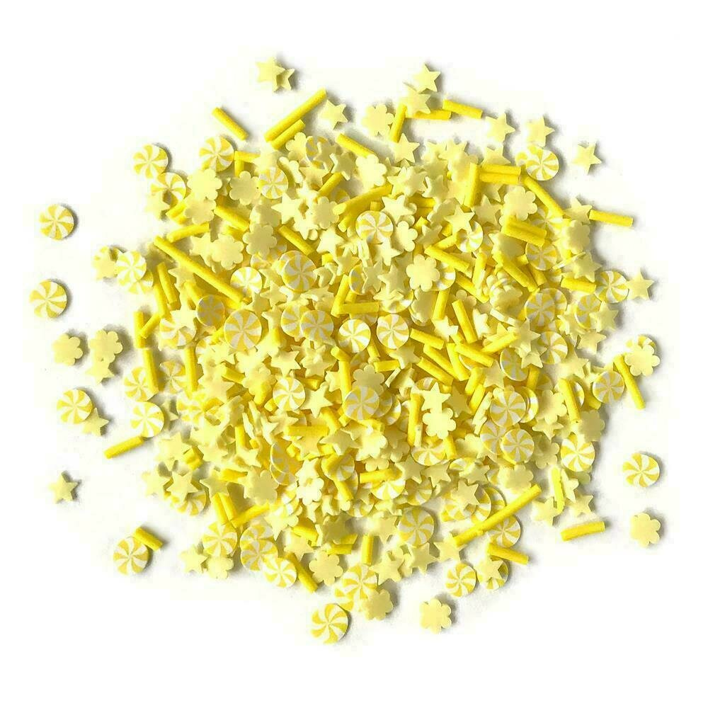 Buttons Galore Sprinkletz Embellishments 12g Canary