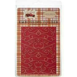 Carta Bella Embossing Folder A2 - Fall Flourish