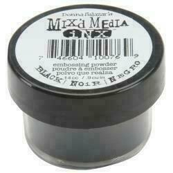 ColorBox Mix'd Media Inx Embossing Powder .5oz Black