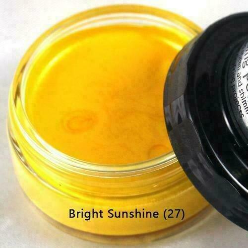 Cosmic Shimmer Metallic Gilding Polish Bright Sunshime