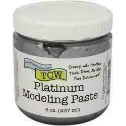 Crafter's Workshop Modeling Paste 8oz Platinum