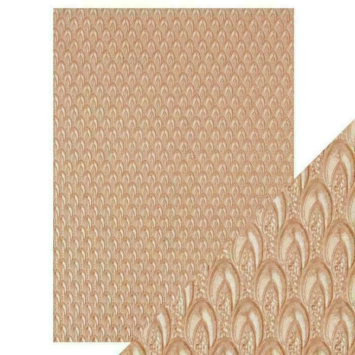Craft Perfect - Hand Crafted Cotton Paper - Champagne Fountain - A4(5/PK)