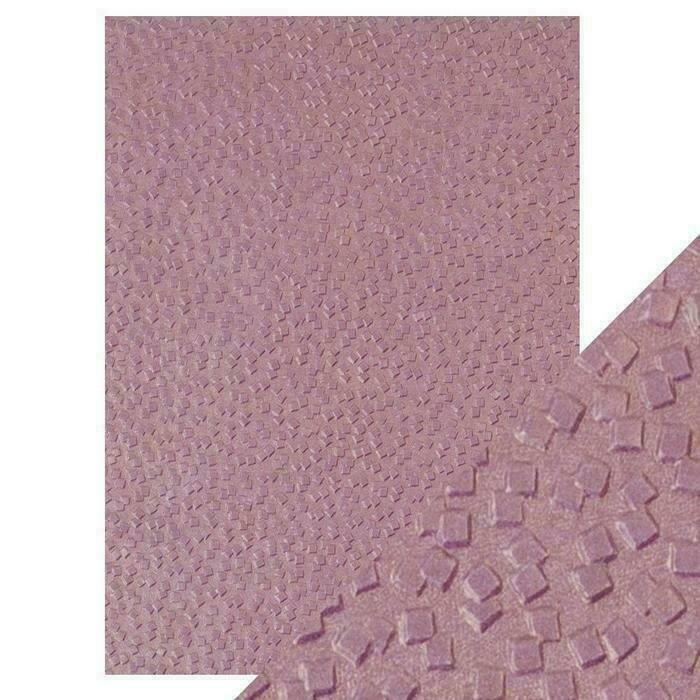 Craft Perfect - Hand Crafted Cotton Paper - Falling Glitter - A4(5/PK)
