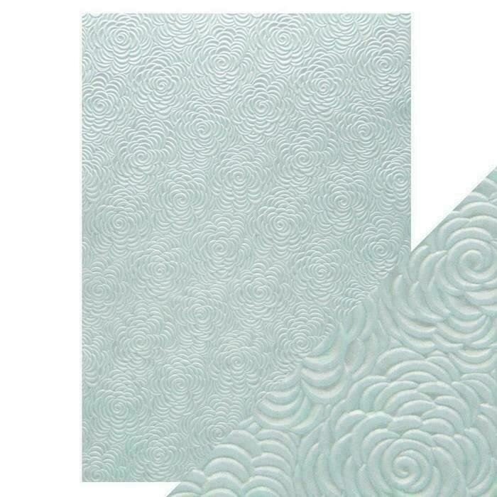 Craft Perfect - Hand Crafted Cotton Paper - Iced Petals - A4 (5/PK)