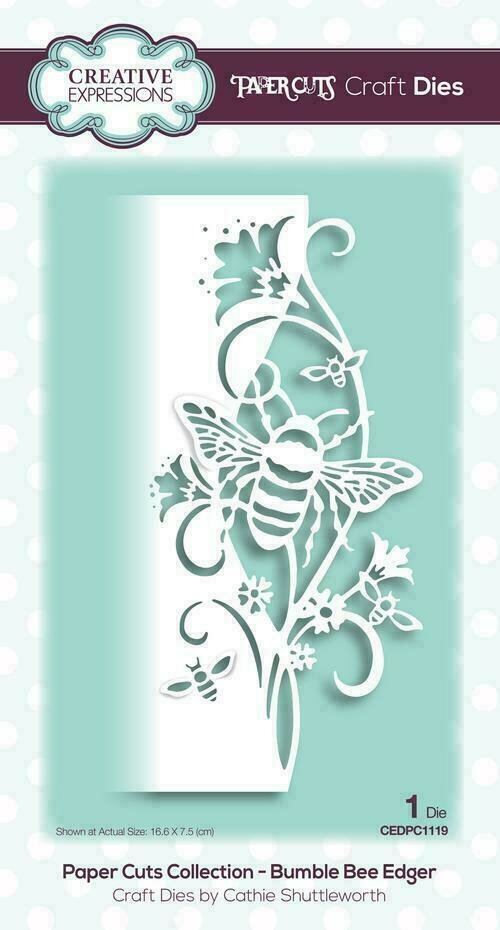 Creative Expressions Paper Cuts Collection - Bumble Bee