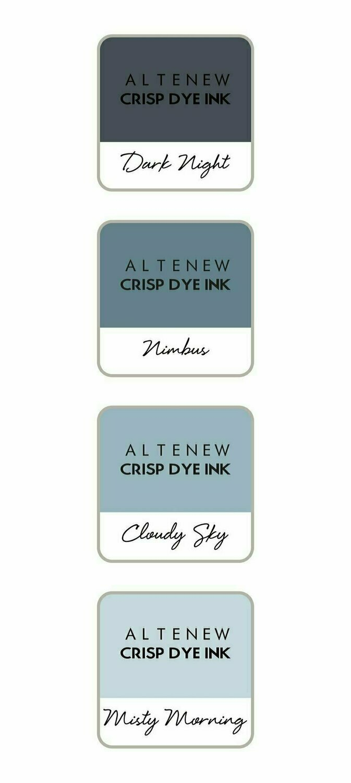 Altenew Crisp Dye Ink Mini Cube Set - Tranquility