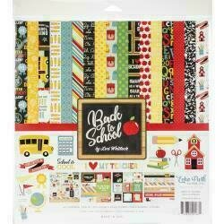 """Echo Park Collection Kit 12""""X12"""" Back to School"""