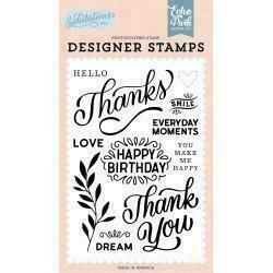 Echo Park Salutations No. 1 StampsThanks