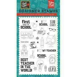 """Echo Park Stamps 4""""X6"""" Back To School Star Student"""