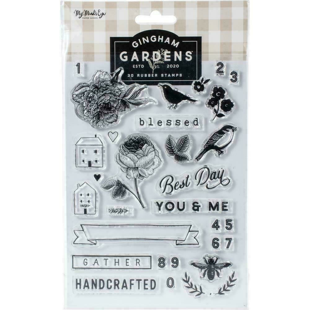 Gingham Gardens Clear Stamps