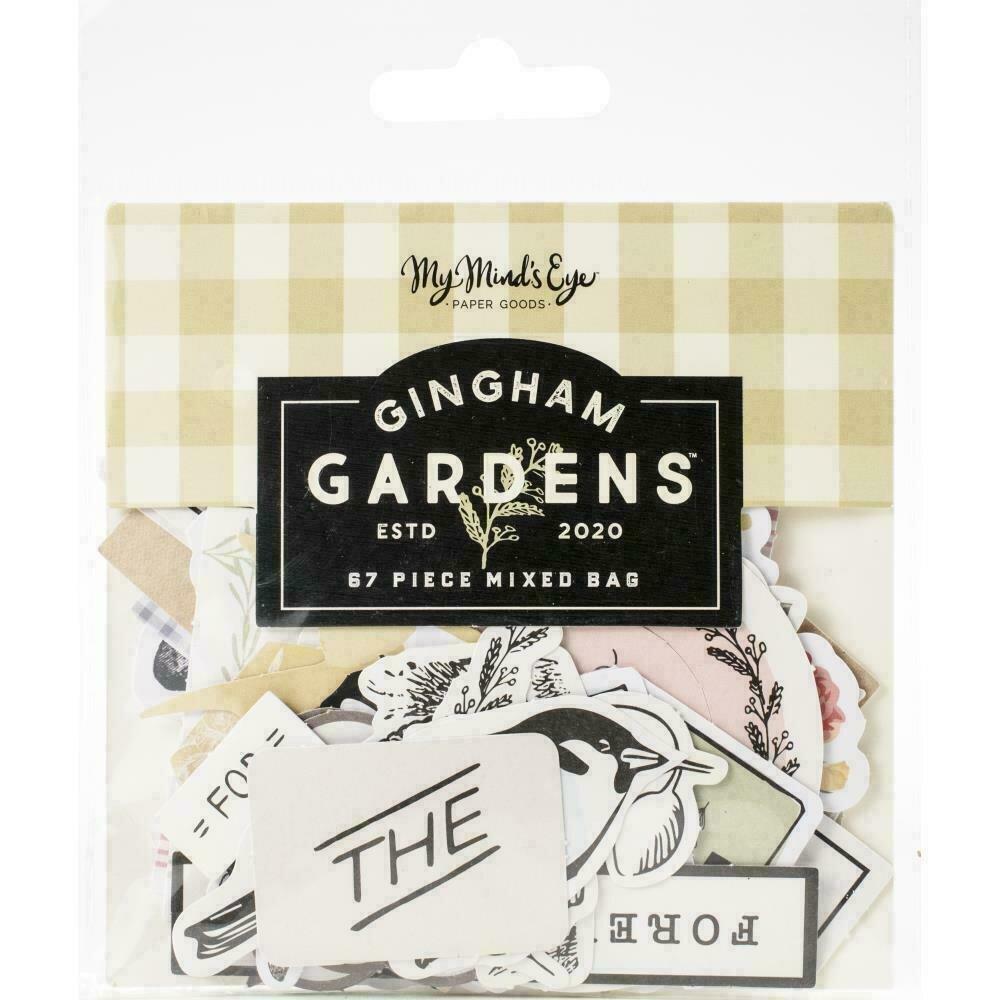 Gingham Gardens Mixed Bag Cardstock Die-Cuts