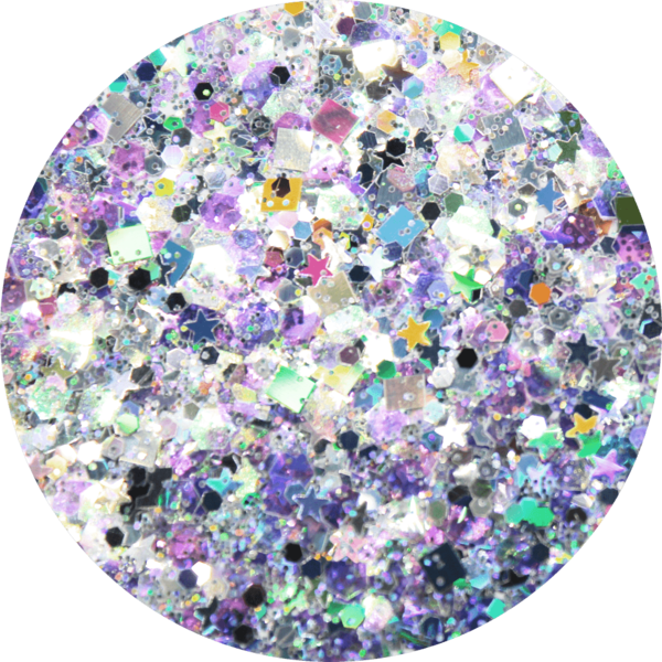Glitter solvent resistant glitter - Bedazzled