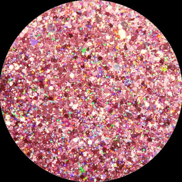 Glitter solvent resistant glitter - Elegant