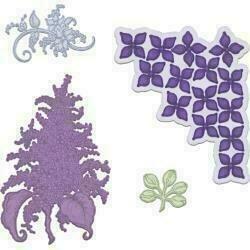 Heartfelt Creations Cut & Emboss Dies Lush Lilac
