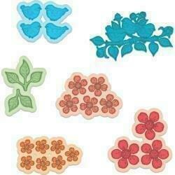 Heartfelt Creations Cut & Emboss Dies Tweet Cherry Blossoms