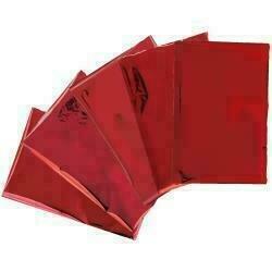 """Heatwave Foil Sheets 4""""X6"""" 30/Pkg Red"""