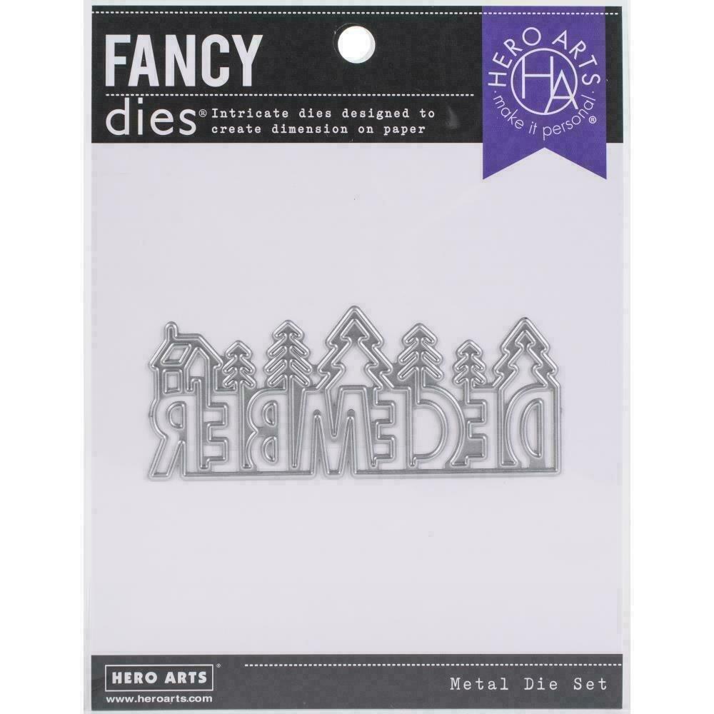 Hero Arts Fancy Dies December