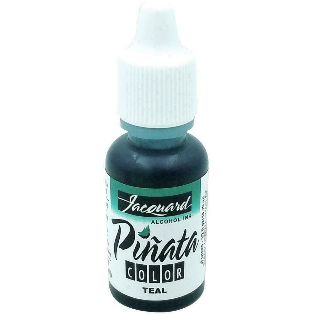 Jacquard Pinata Color Alcohol Ink .5oz Teal