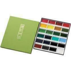Kuretake Gansai Tambi 24 Color Set Assorted Colors