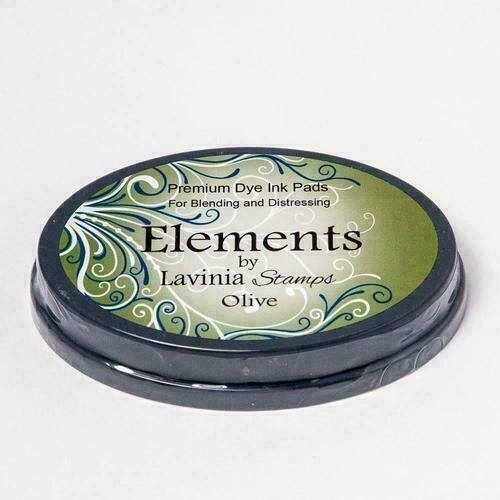 Lavinia Elements Premium Dye ink - Olive